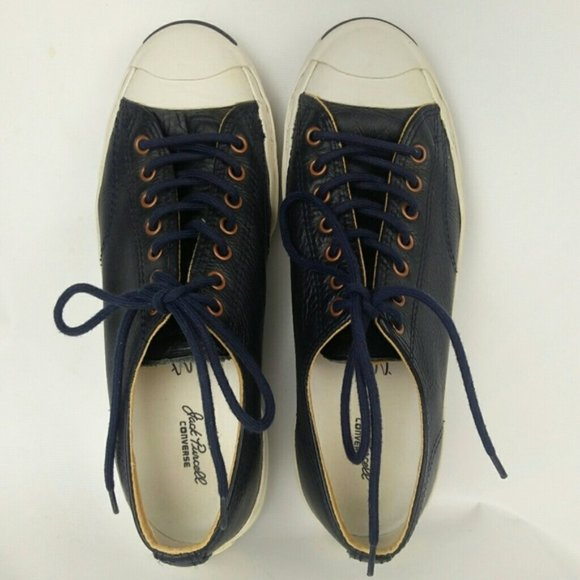 Converse Jack Purcell leather low top sneakers 9